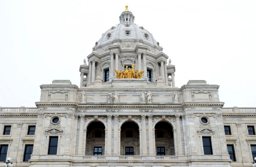 The Minnesota State Capitol as seen on May 13, 2013.