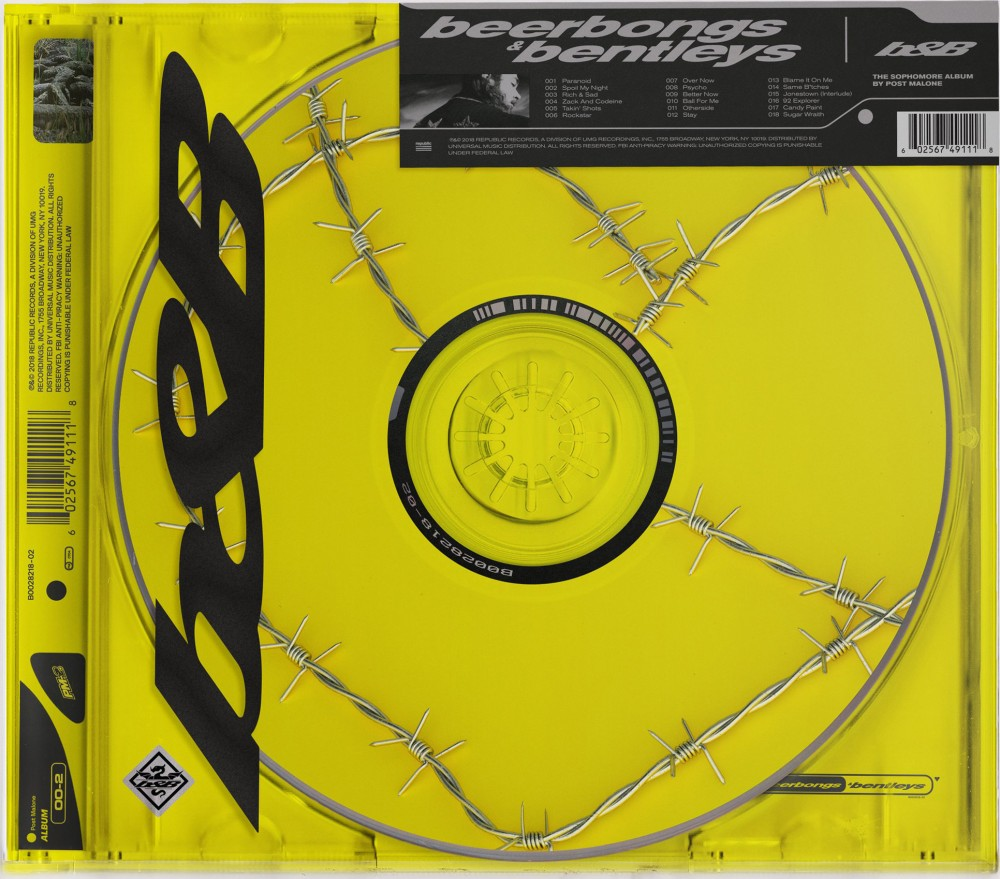 Post Malone released his second studio album