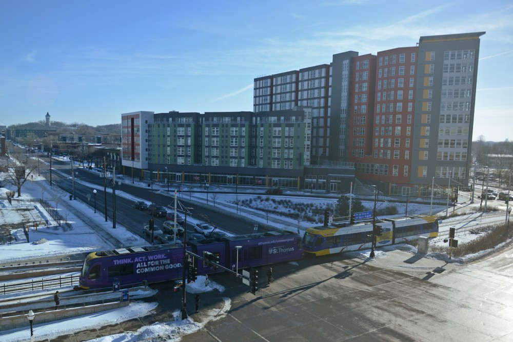 A view of WaHu apartments on Jan. 15, 2017.