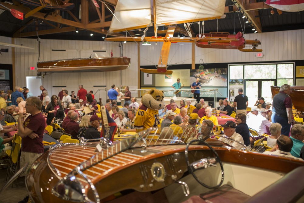 The ninth and final stop over four days of the Gopher Road Trip ended at the Legacy of the Lakes Museum on Thursday, May 24, 2018 in Alexandria, Minnesota.