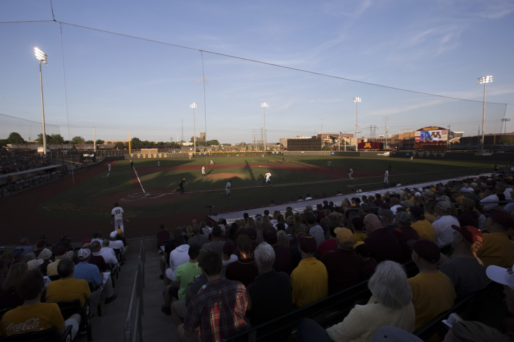 The Gophers play Canisius at Siebert Field on Friday, June 1, 2018.