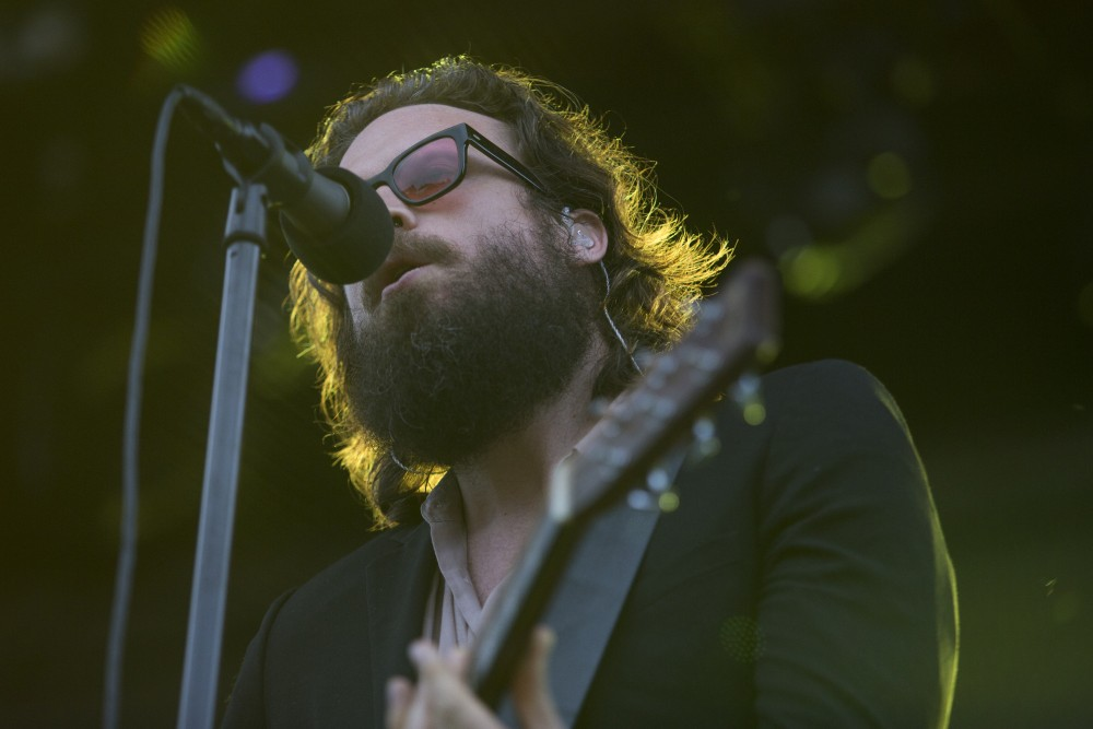 Headliner Father John Misty takes the stage at Rock the Garden on Saturday, June 16.