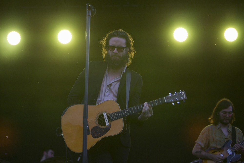 Father John Misty performs at Rock the Garden on Saturday, June 16.
