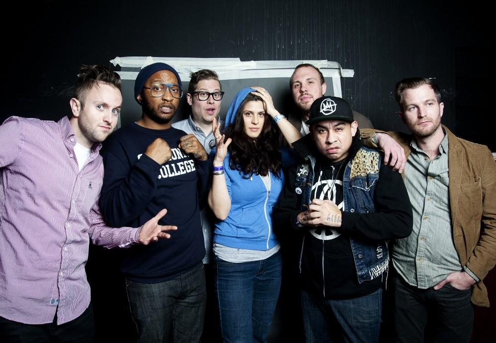 The music group Doomtree.