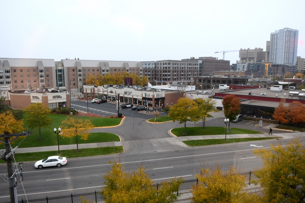 The Motley neighborhood of Prospect Park as seen on Sunday, Oct. 14 in Minneapolis. Motley is considered to be a gateway between the University of Minnesota and Prospect Park.