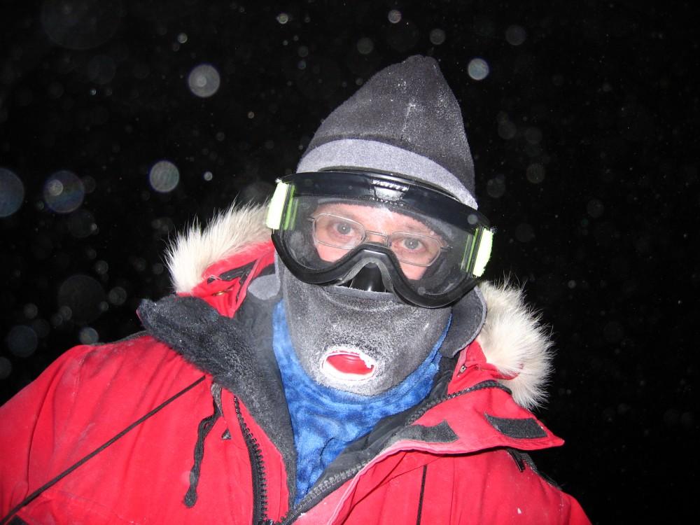 Robert Schwarz in Antarctica