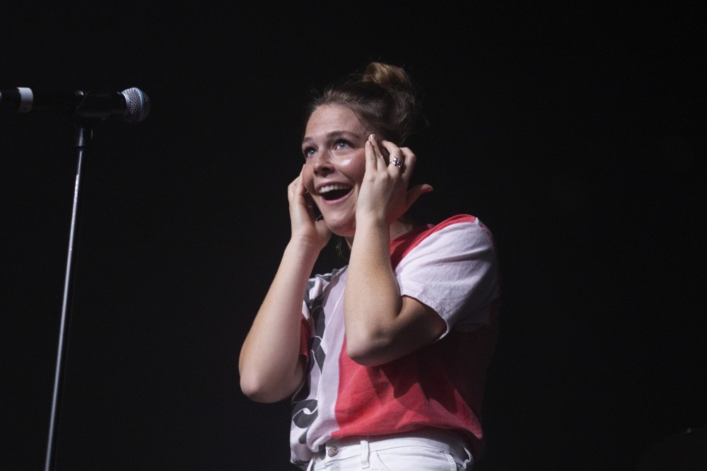 Maggie Rogers performs at First Avenue and 7th Entry on Monday, Oct. 29 in Minneapolis.
