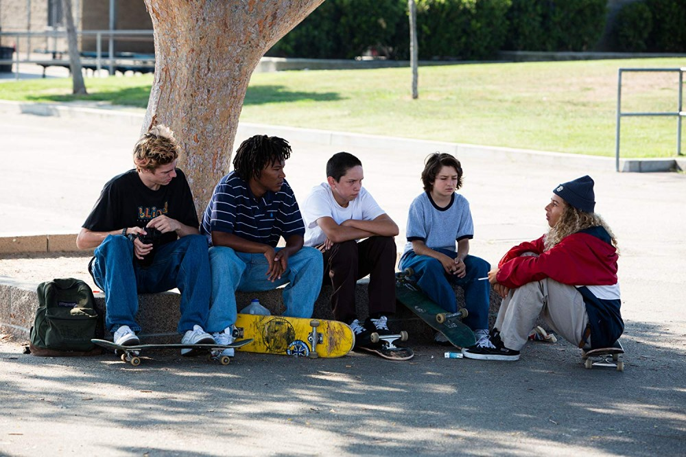 Members of the cast of Mid90s