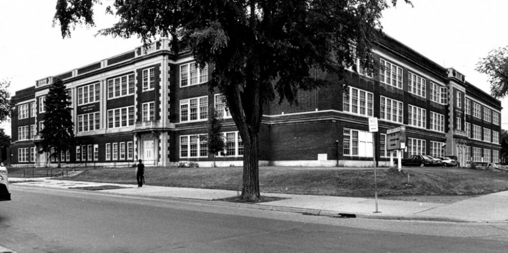 Marshall High School, which opened in 1924, was converted into the University Technology Enterprise Center before being torn down and rebuilt as the Marshall in 2013. UTEC served as an incubator for startups and non-profits, many of which were started by students.