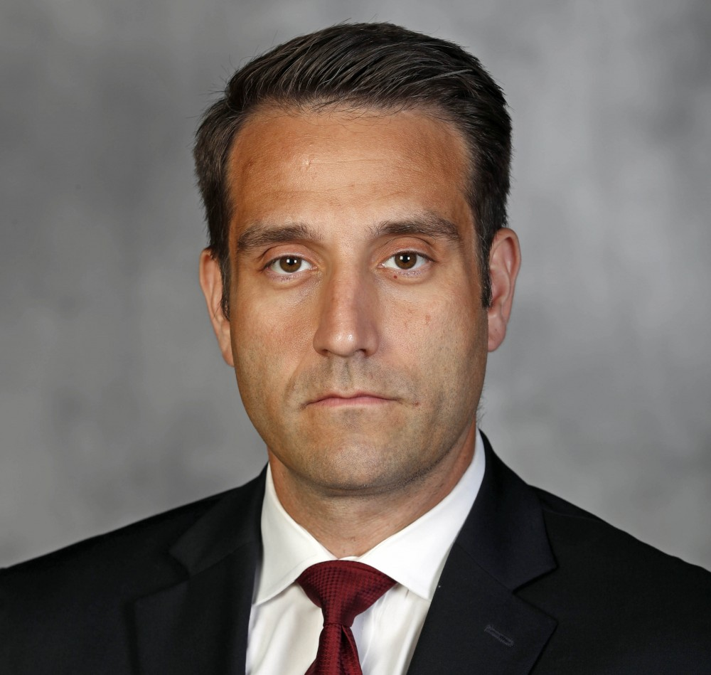 Joe Rossi was hired to replace Robb Smith as defensive coordinator for the Gophers on Wednesday.