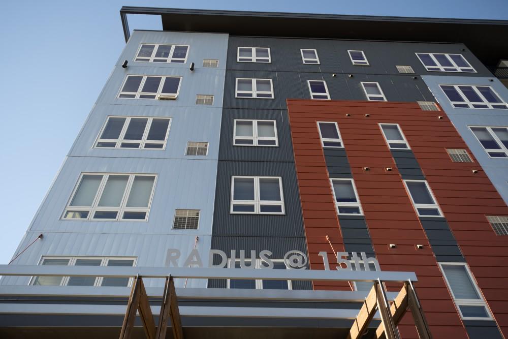 The Radius apartments in Dinkytown on Saturday, Nov. 18.