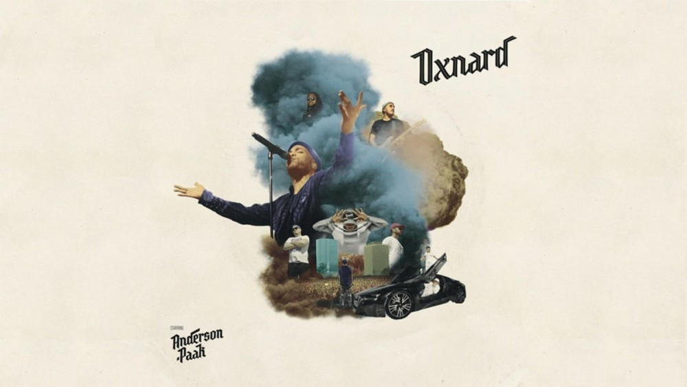 The album cover for Anderson .Paak's new album,