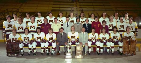 The University of Minnesota 1979 NCAA Championship Ice Hockey team
