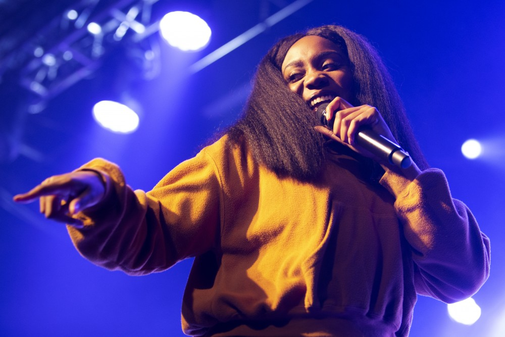 Noname performs at First Avenue on Saturday, Jan. 26 in Minneapolis.