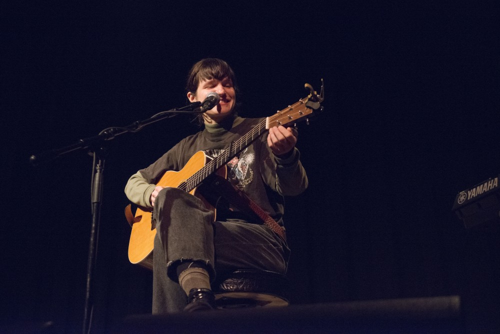 Adrianne Lenker performs at the Cedar Cultural Center on Thursday, Feb. 21.