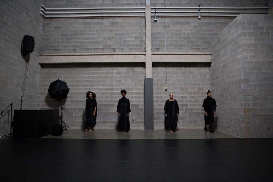 Dancers perform 'What Remains' at the Walker Art center.