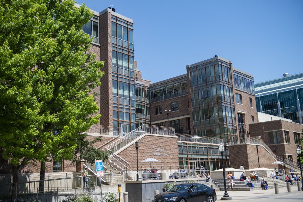 Coffman Union as seen on Wednesday, June 5.