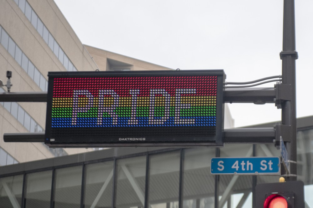 The Pride Parade takes place on Sunday, June 23 in downtown Minneapolis