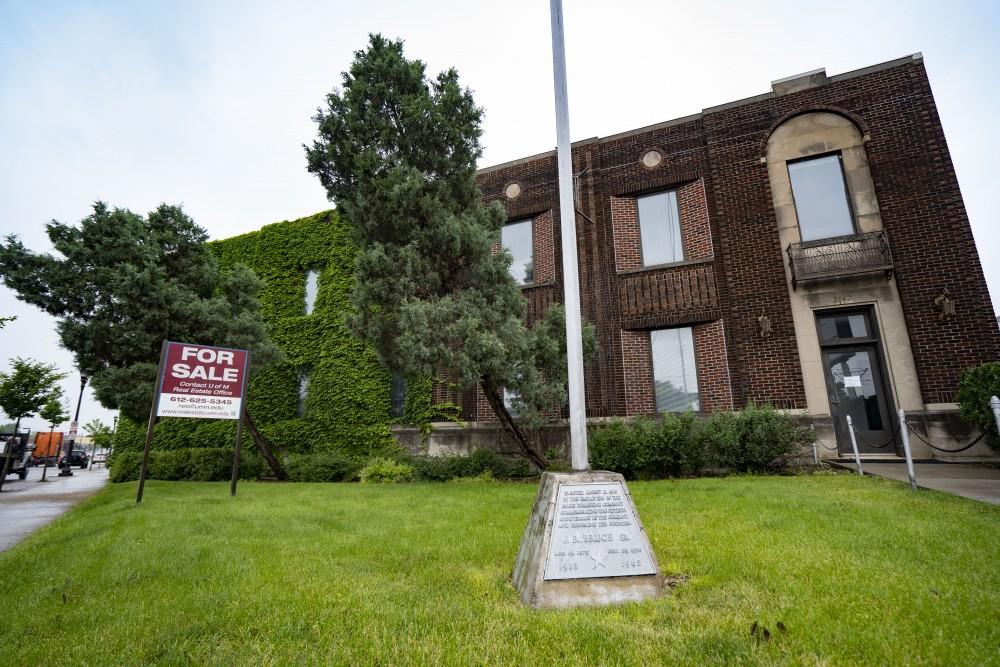The Minnesota Geological Survey Building as seen on University Avenue in Saint Paul on Monday, June 24.
