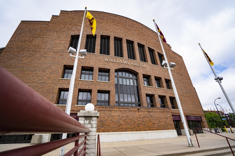 Williams Arena as seen on Monday, June 17, 2019.