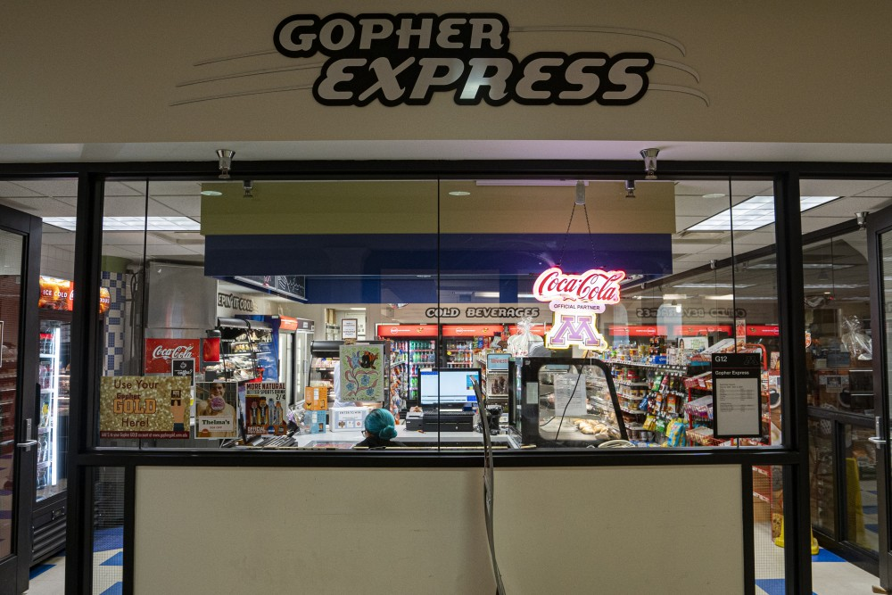 The Gopher Express store in Coffman Memorial Union is open on Monday, July 1.