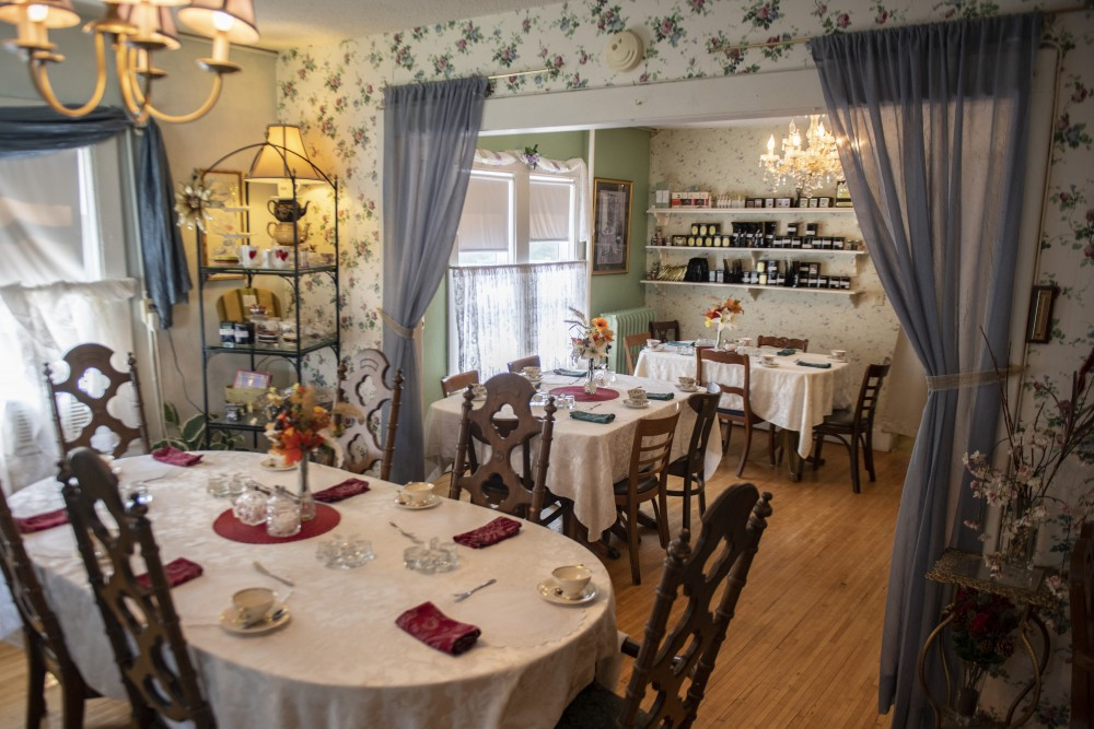 Lady Elegant's Tea Room & Gift Shoppe is seen on Wednesday, July 24 in St. Paul.