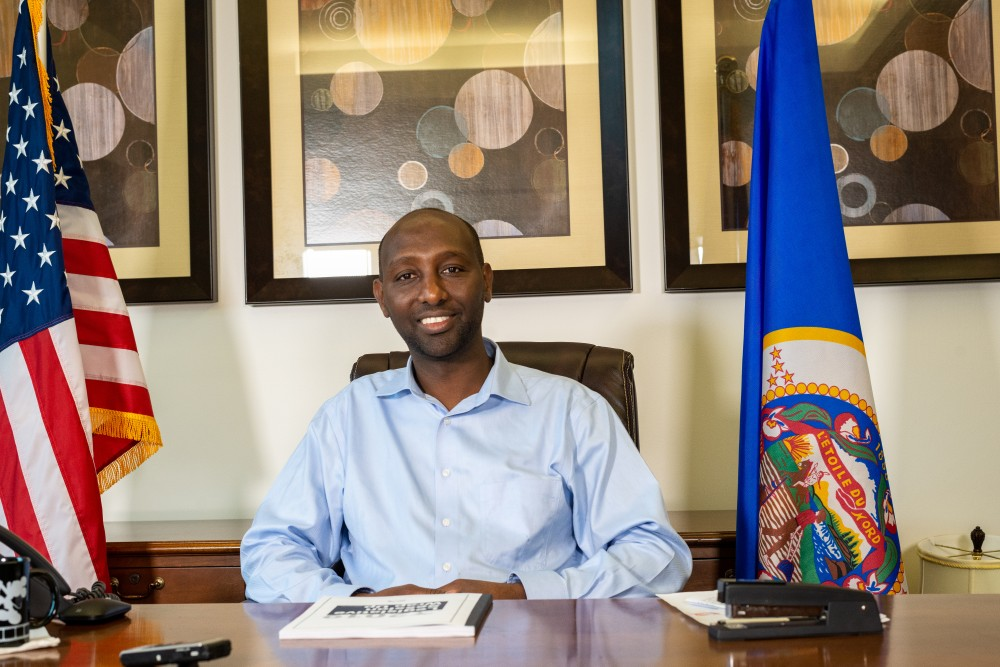 Rep. Mohamud Noor, DFL-Minneapolis, sat down with the Minnesota Daily to reflect on his first legislative session and express hopes for the upcoming session on Friday, July 12 in his office.