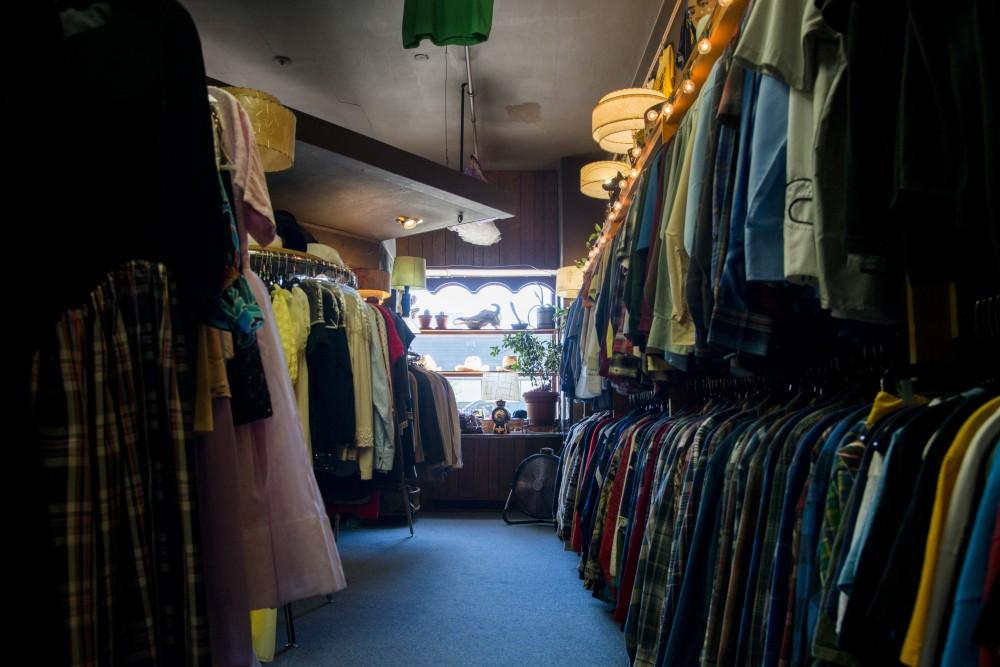 The inside of Corner Store Vintage as seen on Thursday, Aug. 29.