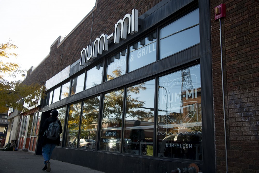 Vietnamese restaurant Num-Mi as seen in Dinkytown on Friday, Oct. 26. After closing, it will be replaced by Dinkytown