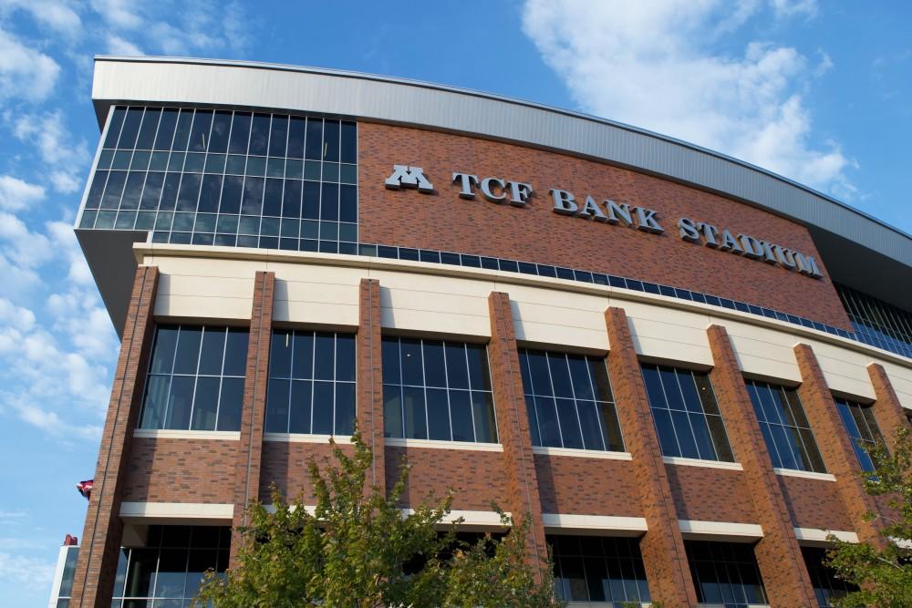 TCF Bank Stadium as seen on Oct. 9, 2019.