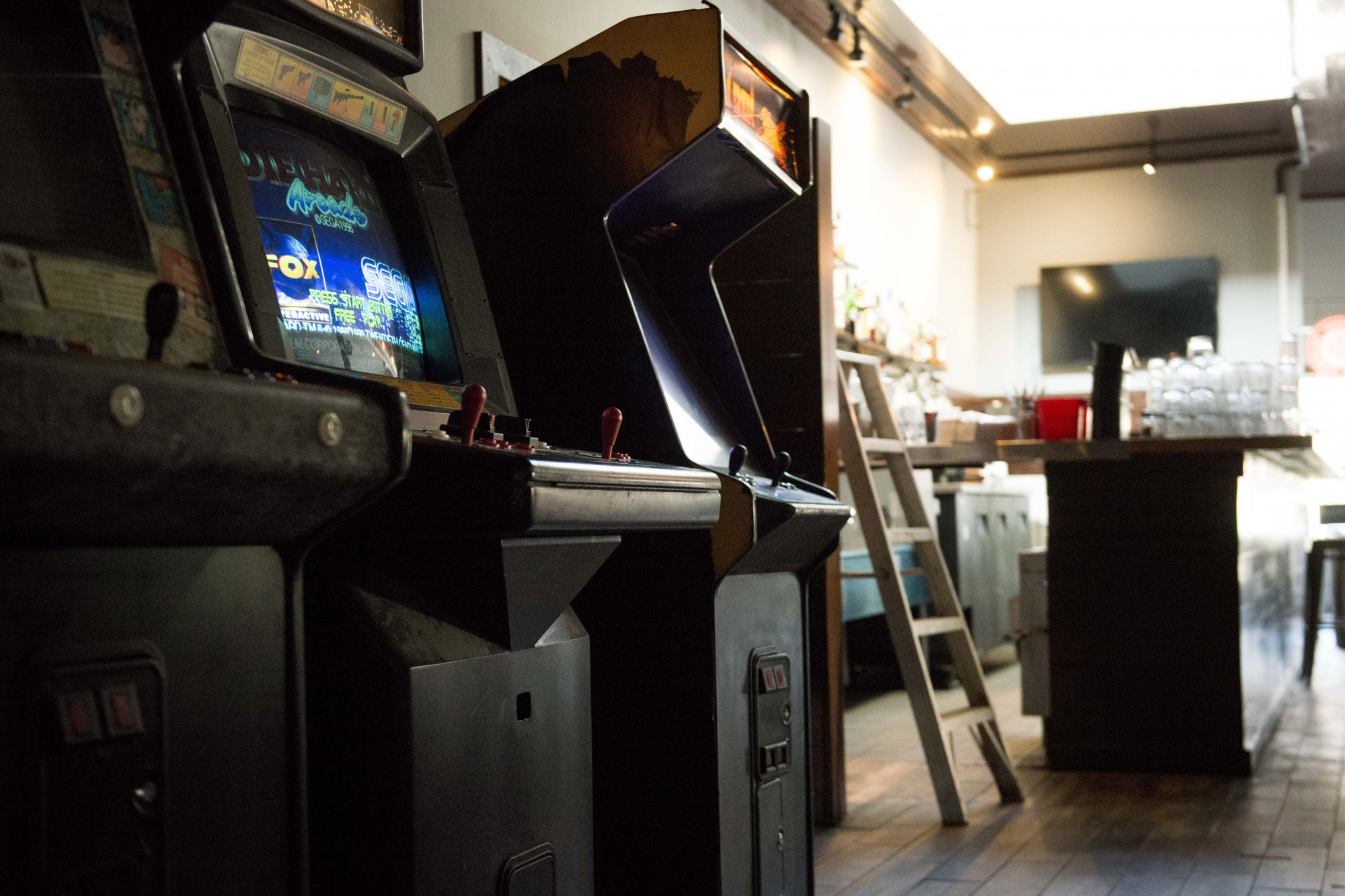 The interiors of NE-Arcade in North-East Minneapolis, which is set to open Friday, as seen on Saturday, Nov. 16.