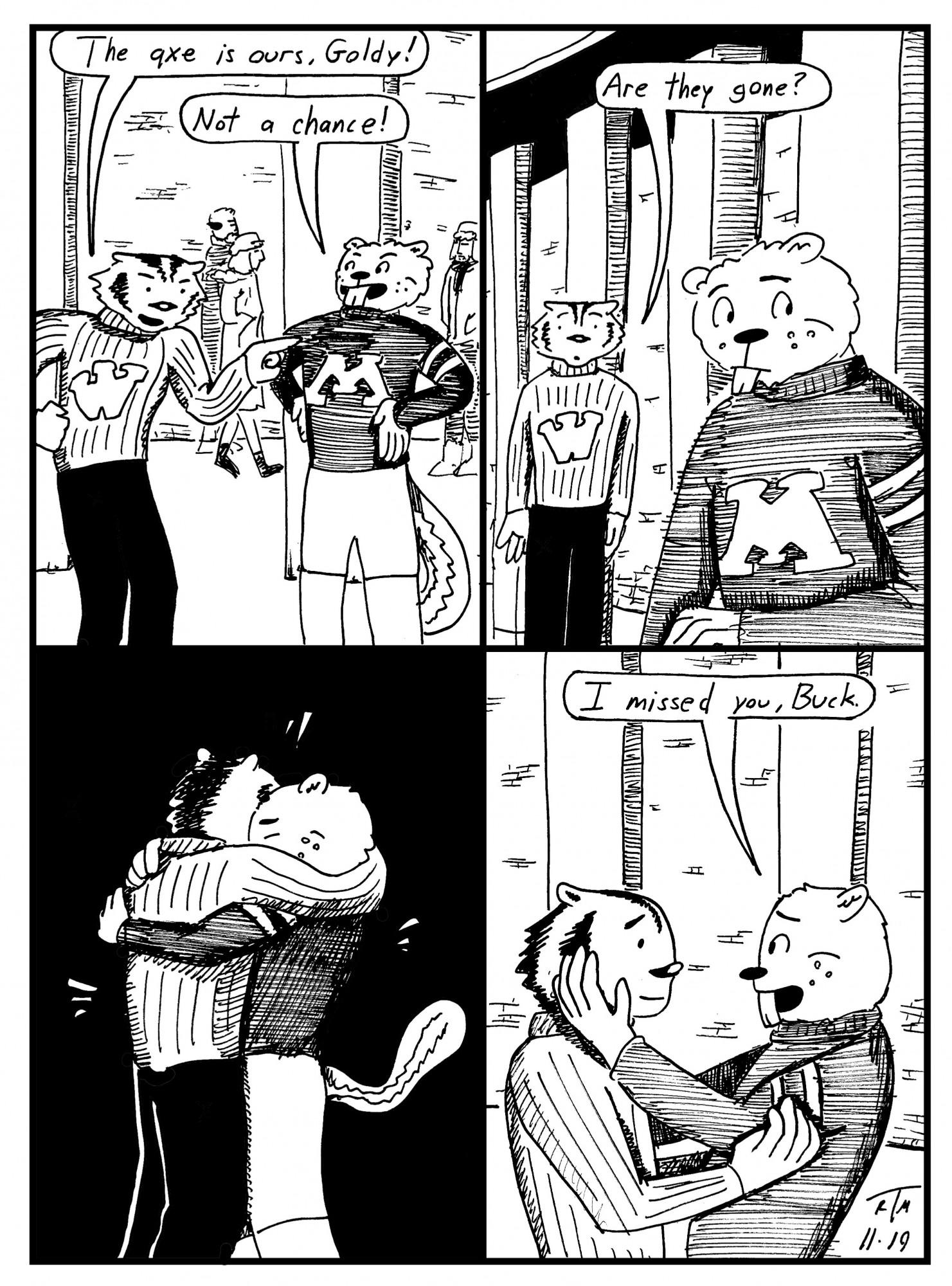 goldybadger comic