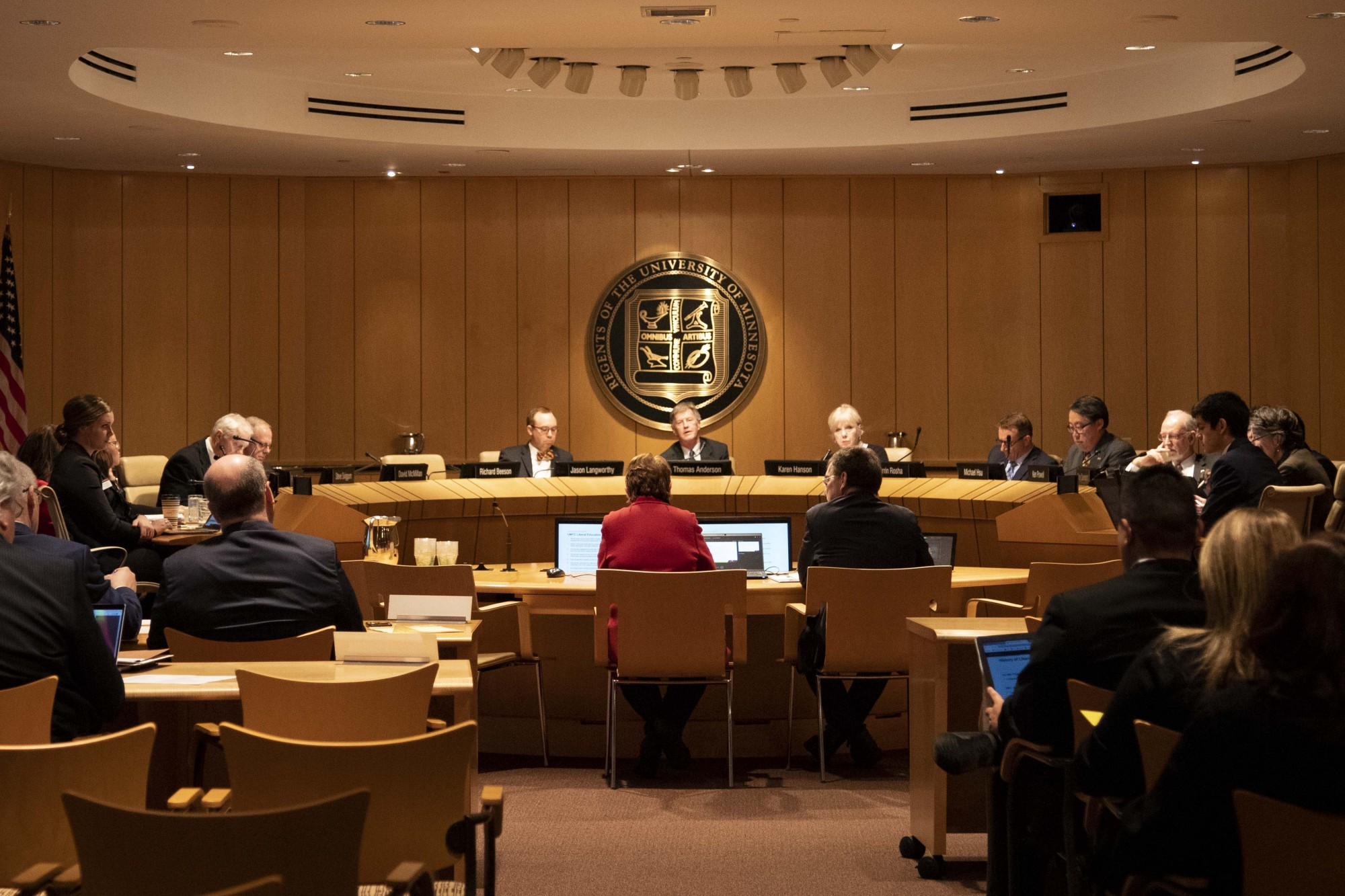 The Board of Regents convene for their December 2019 meeting at the McNamara Alumni Center on Thursday, Dec. 12.