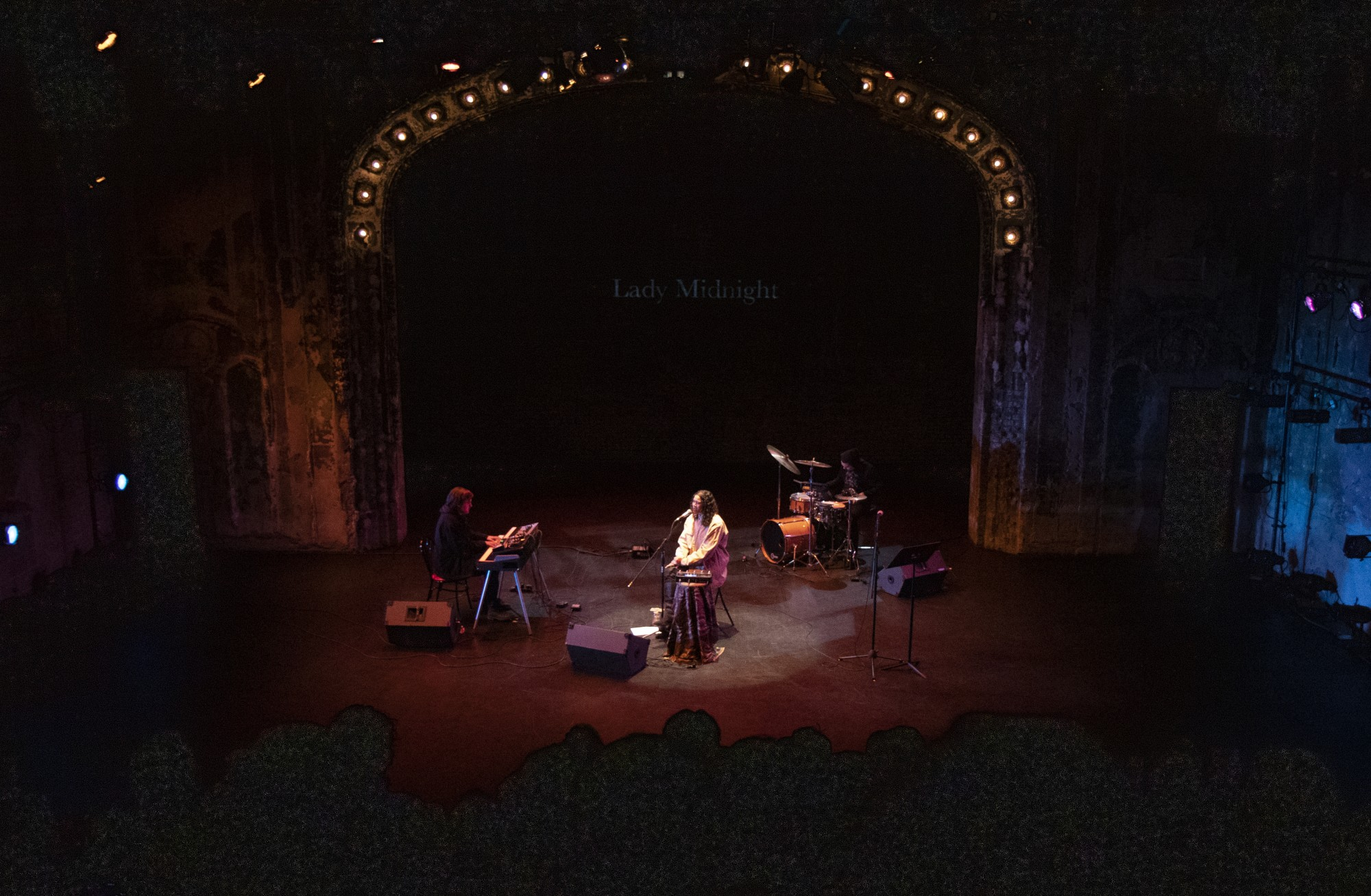 Lady Midnight performs at The Southern Theater as part of