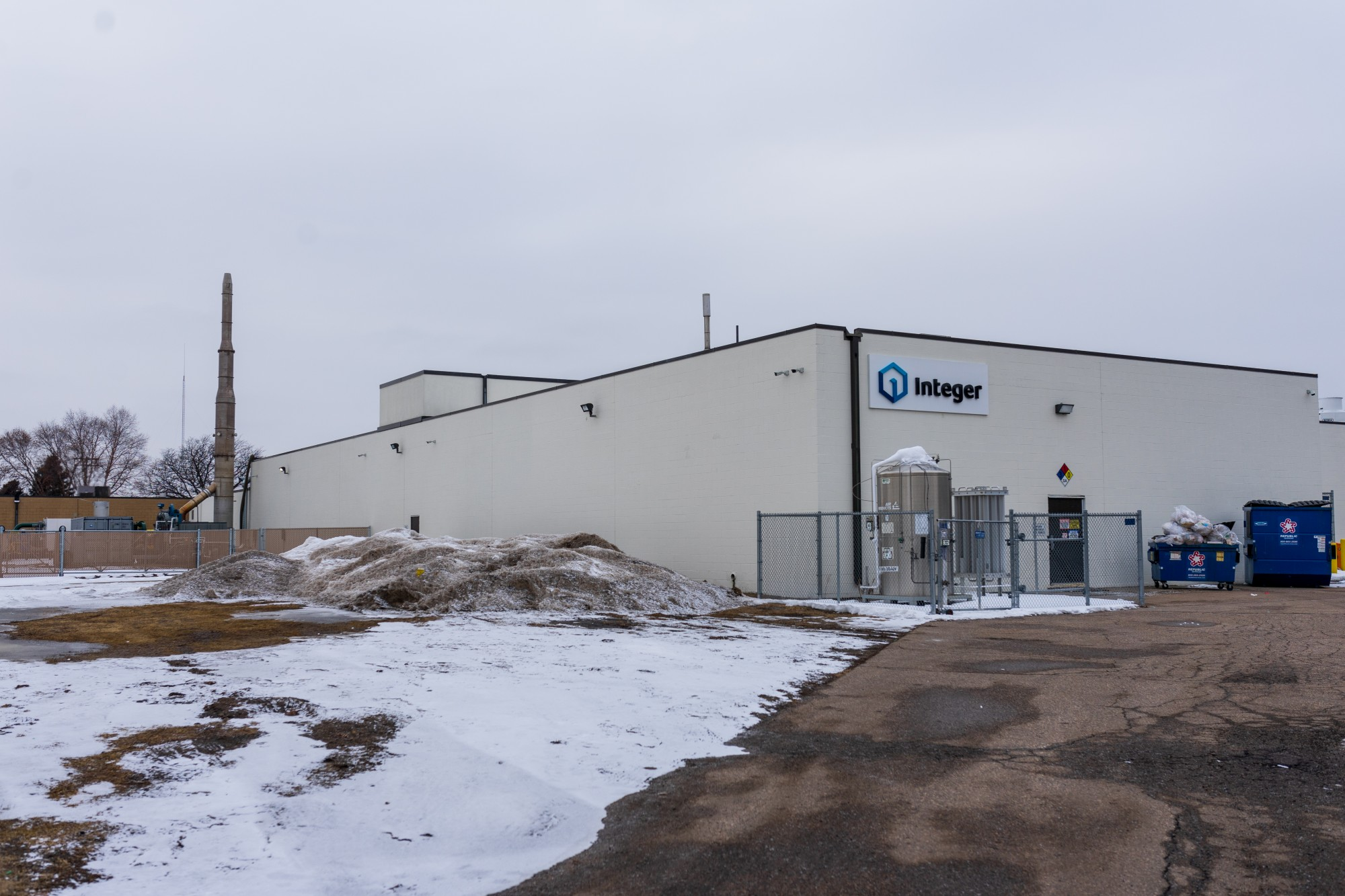 A building owned by Integer, a medical device outsource manufacturer, stands in Southeast Como on Friday, Feb. 7. The site has recently been identified as producing higher than acceptable levels of trichloroethylene (TCE), an industrial solvent and carcinogen.