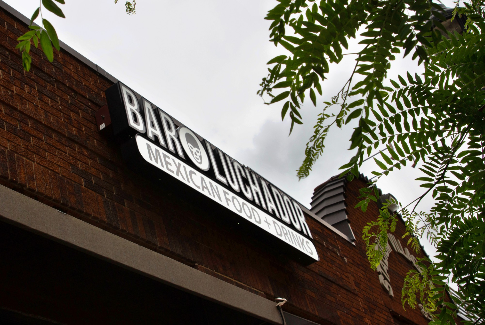Bar Luchador sits closed on Washington Ave in Stadium Village on Friday, May 29. (Audrey Rauth / Minnesota Daily)