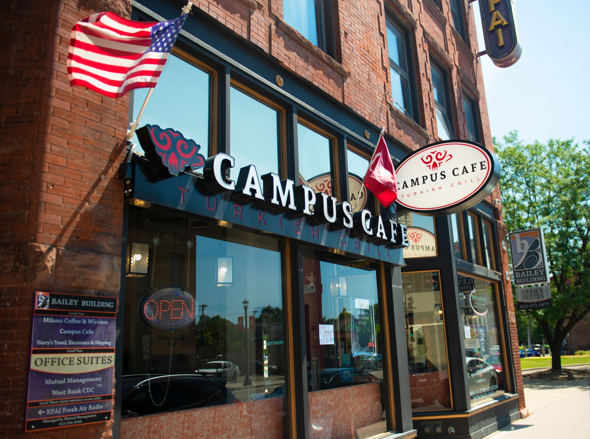 The Campus Cafe Turkish Grill in the Cedar-Riverside neighborhood of Minneapolis on Wednesday, June 17.