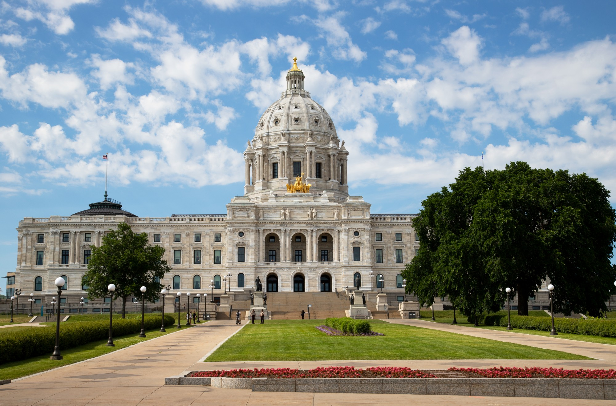 Minnesota State Capitol in St. Paul on Friday, June 13, 2020. (Minnesota Daily / Jasmin Kemp)