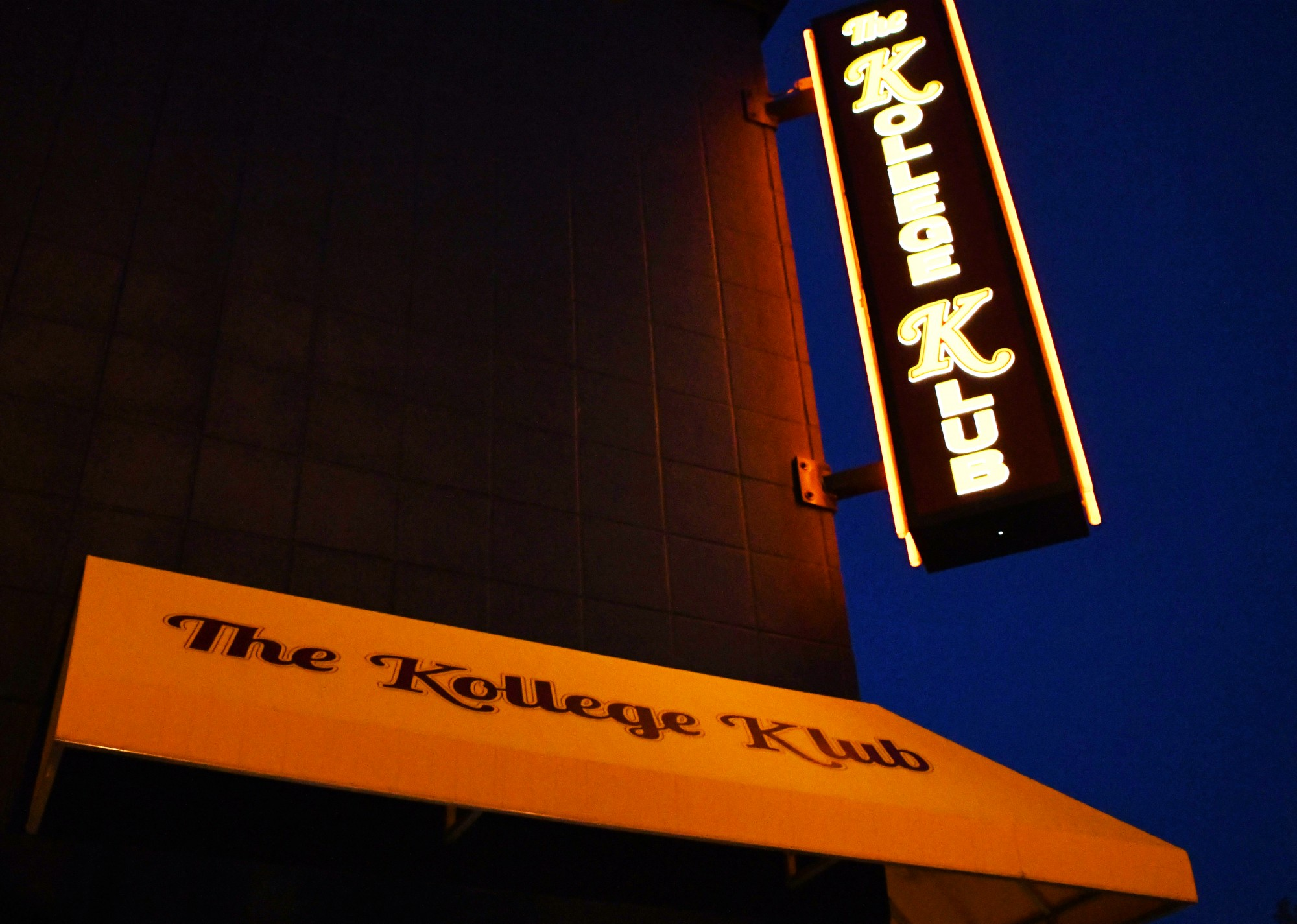 The Kollege Klub, a popular bar in Dinkytown, on Saturday, June 20. Bars in Minneapolis recently reopened their doors, but have limited hours of operation. (Emily Urfer / Minnesota Daily)