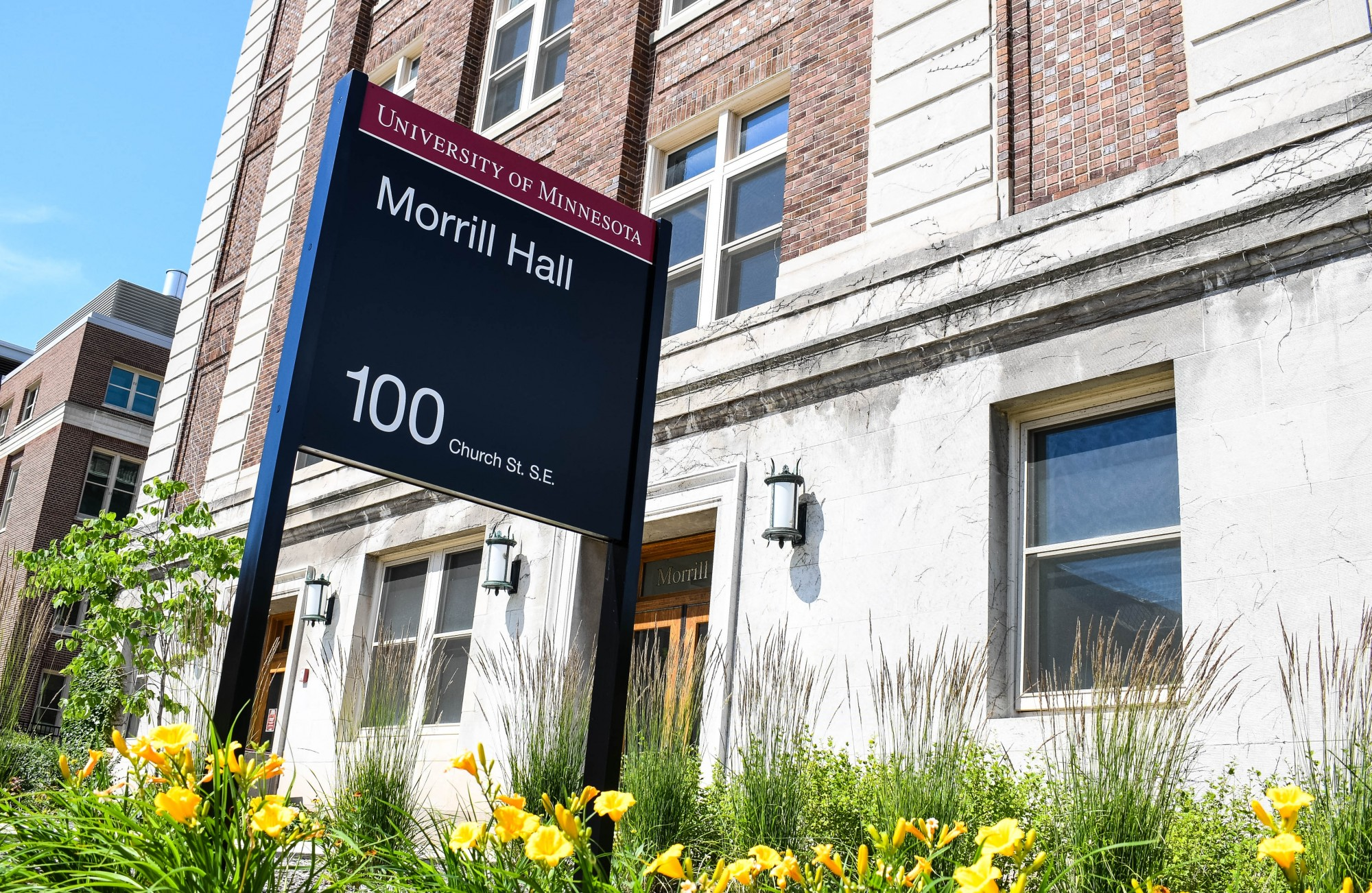 The current exterior of Morrill Hall on the University of Minnesota, Twin Cities campus on Friday, July 3.