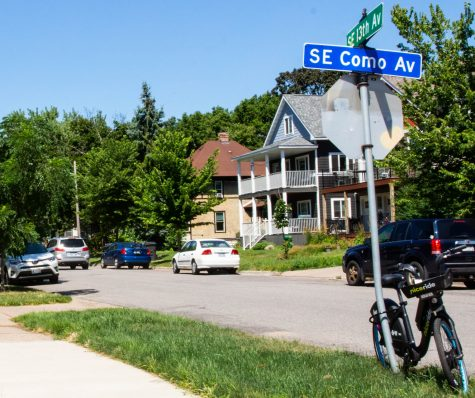The intesection of SE 13th Ave. and SE Como Ave. on Thursday, July 23.
