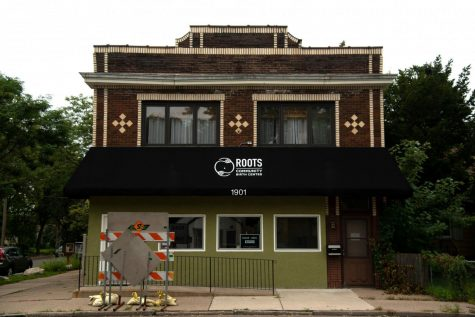 Roots Community Birth Center building in North Minneapolis as seen on Friday, Sept. 11. Roots is one of the few African American-owned birth centers across the country.
