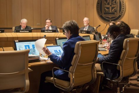 The Board of Regents meet on Friday, Feb. 14. The Board of Regents holds a meeting each month.