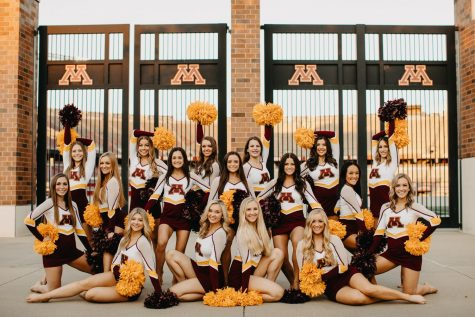 Gophers' dance bonding and practicing without football and comps in the fall