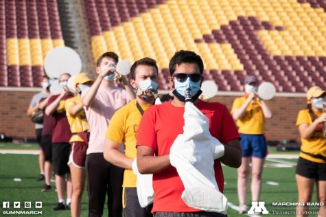 Photo Courtesy of the University of Minnesota Marching Band