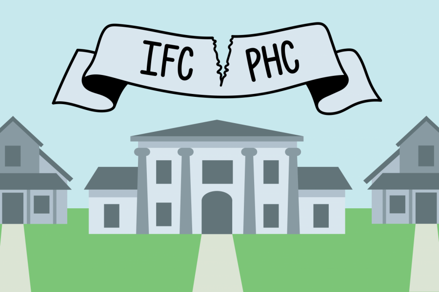 Panhellenic Council and Interfraternity Council to stay split this spring