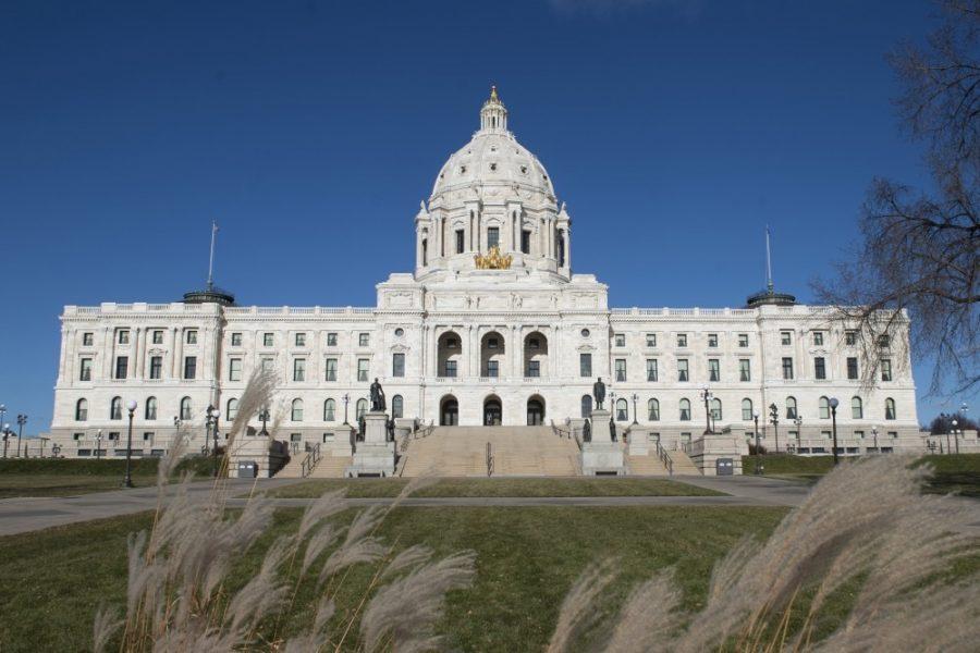 The Minnesota State Capitol on Nov. 18, 2018.