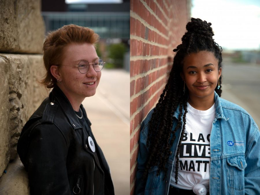 Left%3A+Student+advocate+Jimmy+Cooper+poses+for+a+portrait+in+Dinkytown+on+Thursday%2C+Oct.+1.+They+are+known+for+hosting+student+events+that+combine+creativity+and+activism+on+campus.%0A%0ARight%3A+Student+advocate+Bri+Sislo-Schutta+poses+for+a+portrait+in+Dinkytown+on+Wednesday%2C+Sep.+30.+She+is+the+Executive+Director+of+the+Association+of+Big+Ten+Students.