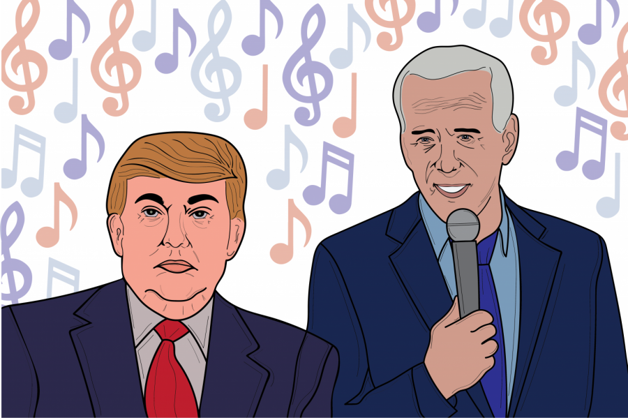 What songs topped the charts during election years