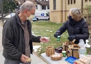 A Meals on Wheels volunteer appreciation event.